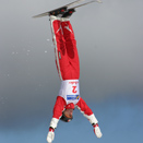 Jumping at home - Mt Buller World Cup 2005